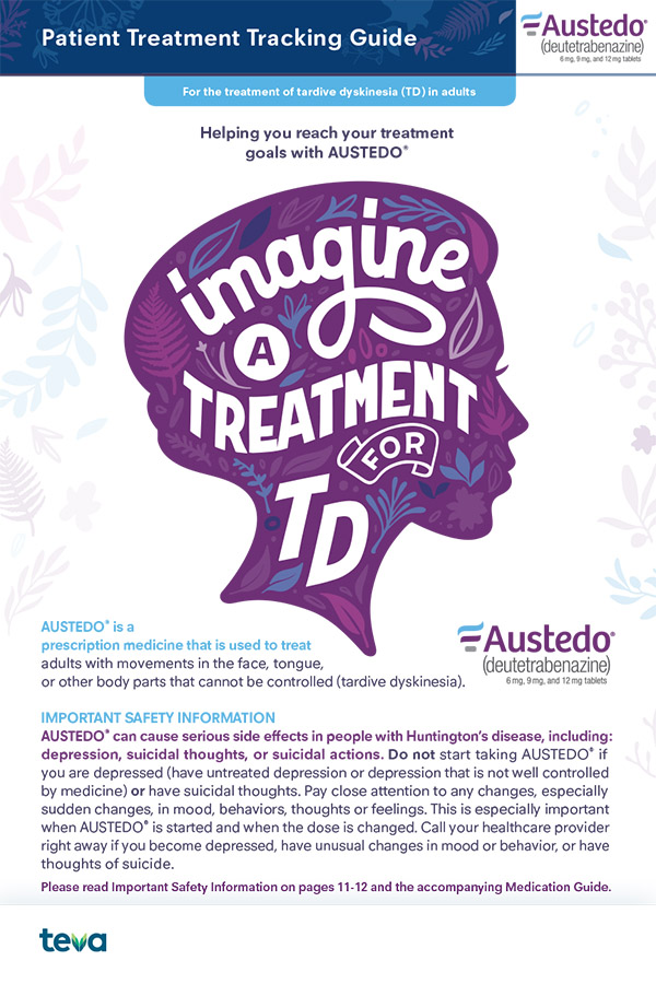 AUSTEDO® Treatment Tracking Guide